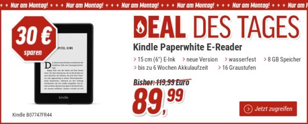 Kindle Paperwhite E Book Reader Nur Heute Bei Notebooksbilliger De
